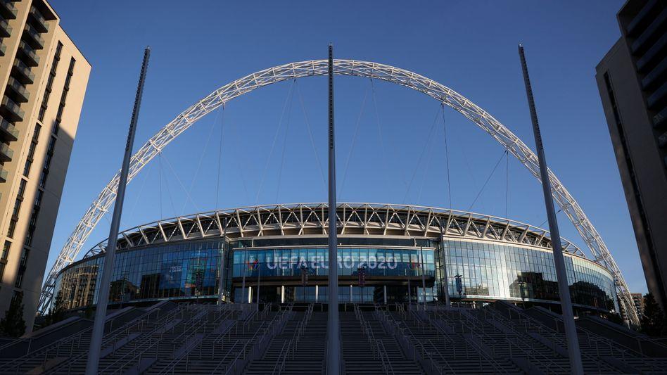 Das Wembley-Stadion in London