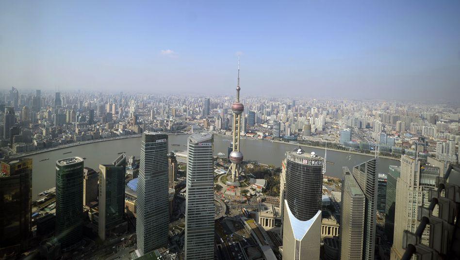 """Skyline von Shanghai: Die Umfrageergebnisse sind """"ziemlich alarmierend"""""""