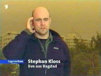 ARD-Reporter Kloss: Chance, groß raus zu kommen