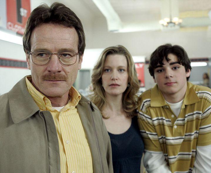 Alles für die Familie? Walts Frau Skyler (Anna Gunn) und Sohn Walter Jr. (RJ Mitte) sind längst Opfer seines Machthungers geworden.