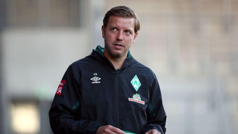 """Werders Trainer Florian Kohfeldt: """"Es kann kein Weiter-so geben. Es wird kein Weiter-so geben""""."""