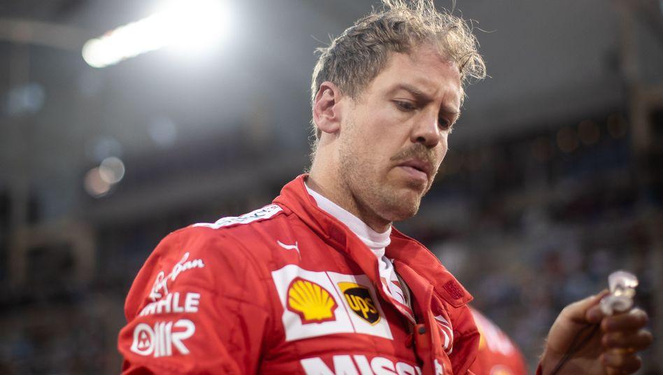 Sebastian Vettel wurde in Bahrain Fünfter