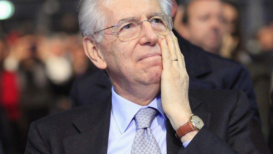 Mario Monti: Von den Wählern abgewatscht