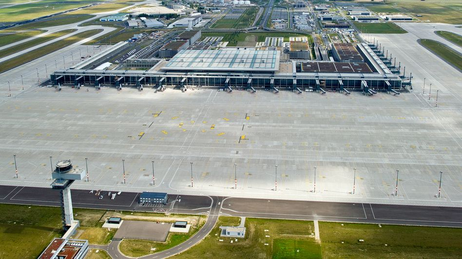 Germany's most expensive construction site: Berlin Brandenburg Willy Brandt Airport.
