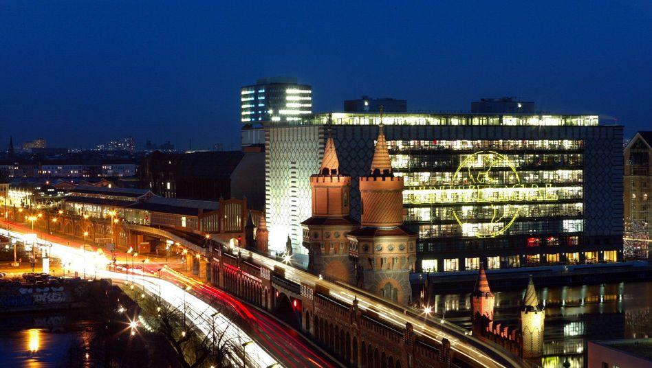 Firmensitz von Universal in Berlin: Konkurrent EMI wird aufgekauft