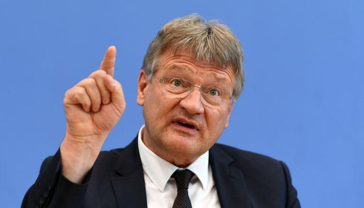 """AfD-Chef Meuthen: """"Ideologischer Irrsinn der Ökoaktivisten"""""""