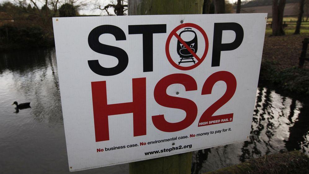 Plan der britischen Regierung: Highspeed-Züge gen Nordengland