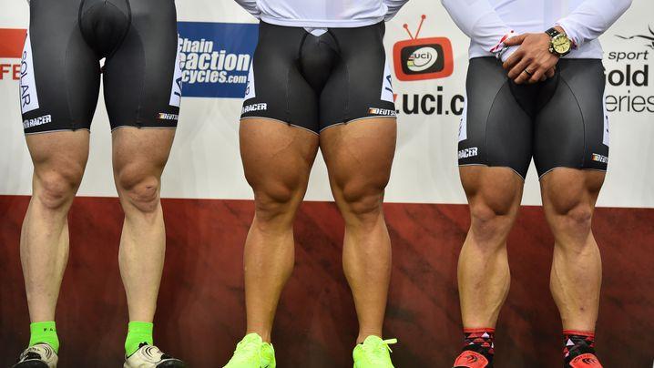 Beine frau muskulöse Muskulöse Beine