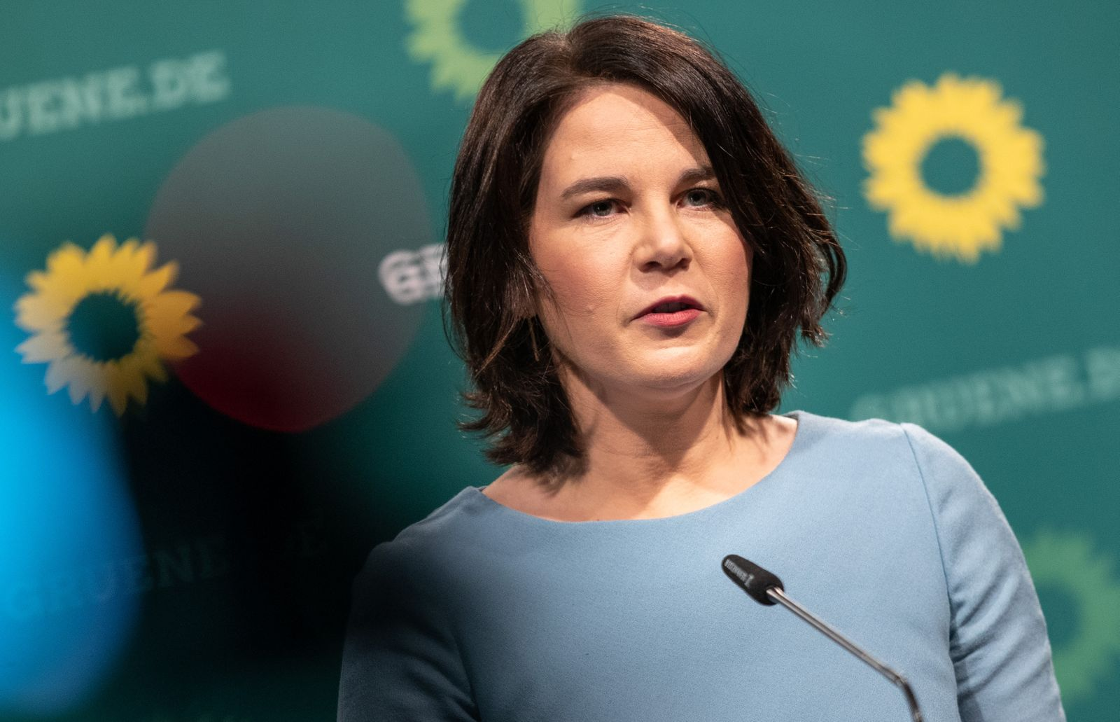 Greens Party Chancellor Candidate Annalena Baerbock Press Conference