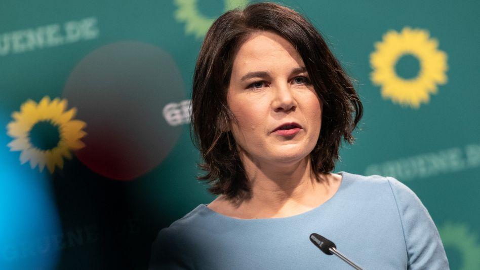 Grünen-Kanzlerkandidatin Baerbock