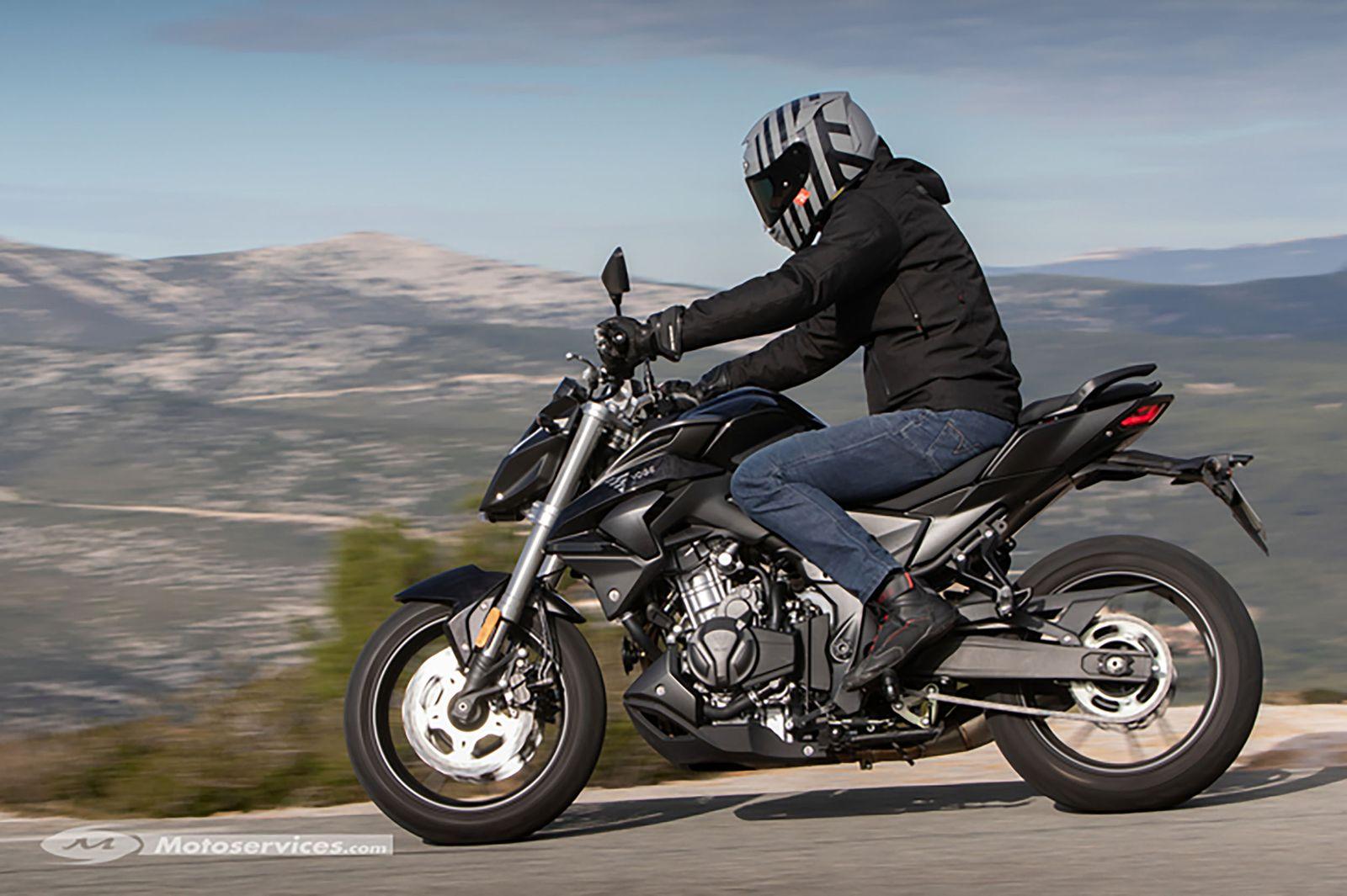 Motorräder aus China: Voge 500R