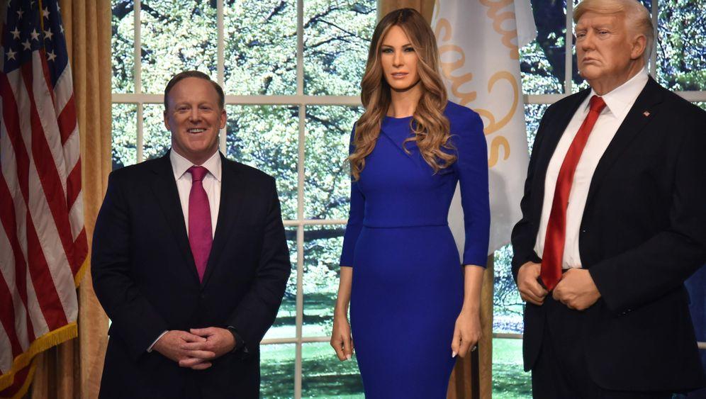 Figur bei Madame Tussauds: Melania Trump, gewachst