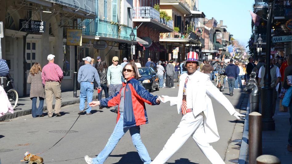 Künstler in den Straßen von New Orleans