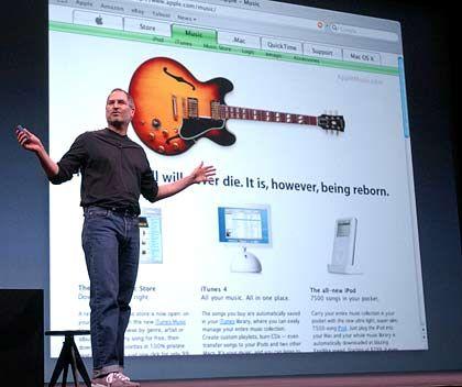 Steve Jobs: Der Unternehmer mit dem Popstar-Image sucht aggressiv und kreativ den Weg ins Entertainment-Business