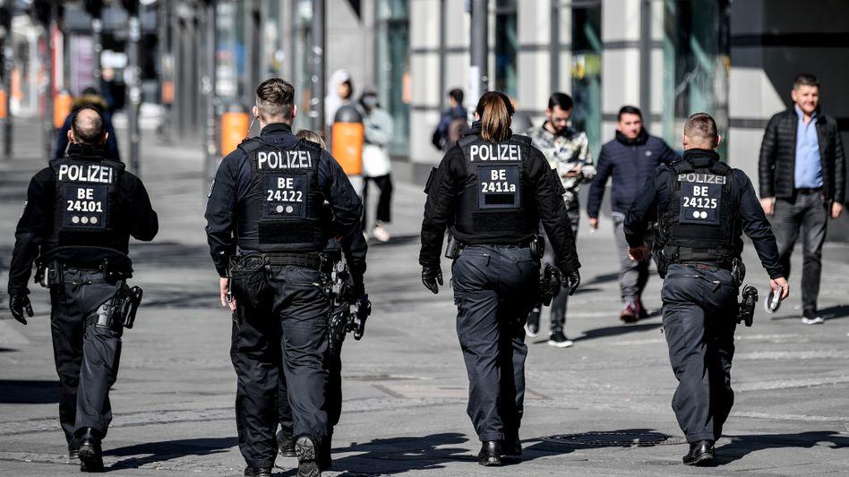 """Polizisten in Berlin: """"Das war eine zwingend notwendige Klärung"""""""