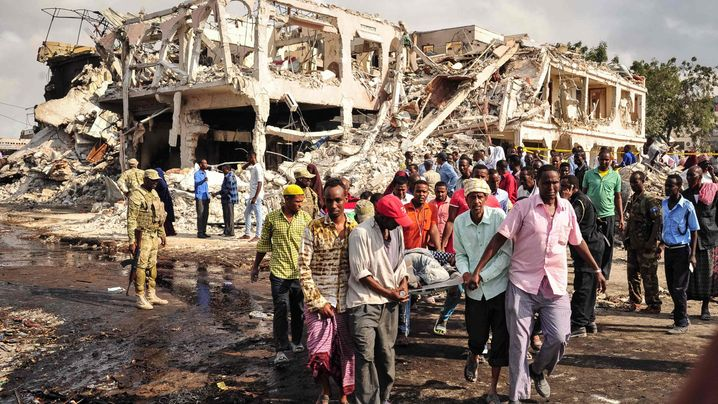 Mogadischu: Explosion an einer belebten Kreuzung
