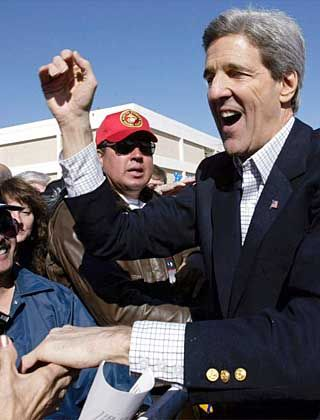 Favorit der Demokraten: John Kerry