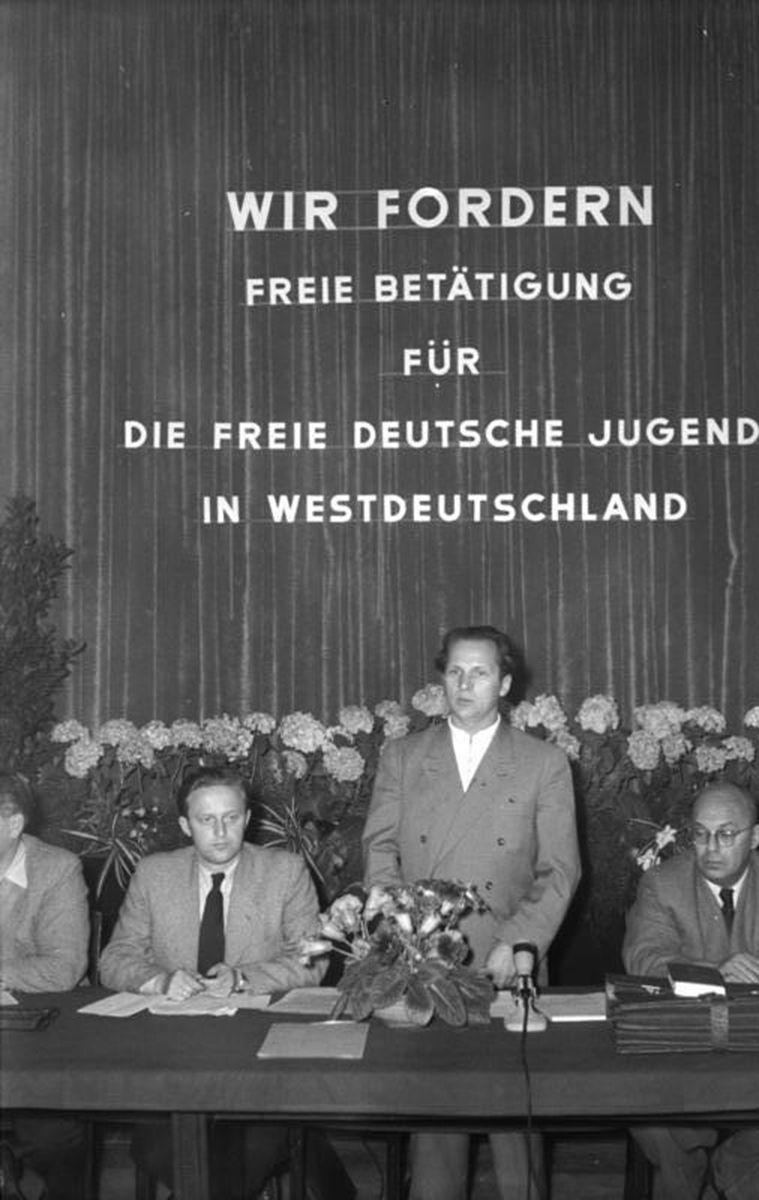Berlin, Pressekonferenz, Honecker, Kaul