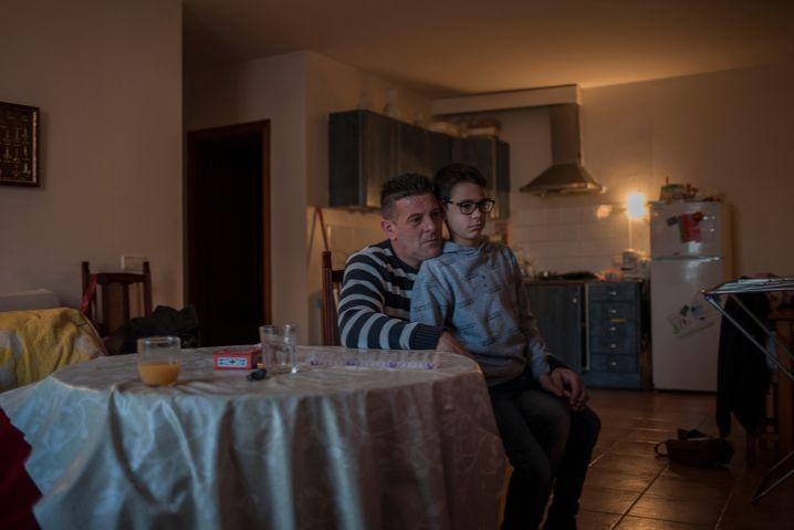 Auch Vanessa Priego Martos' Mann ist seit der Pandemie arbeitslos, inzwischen reicht das Geld nicht einmal mehr fürs Essen