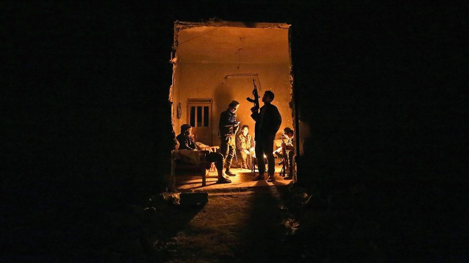 Kämpfer der Freien Syrischen Armee bei Aleppo: Gängige Definitionen von »Verbündeter« und »Gegner« greifen nicht mehr