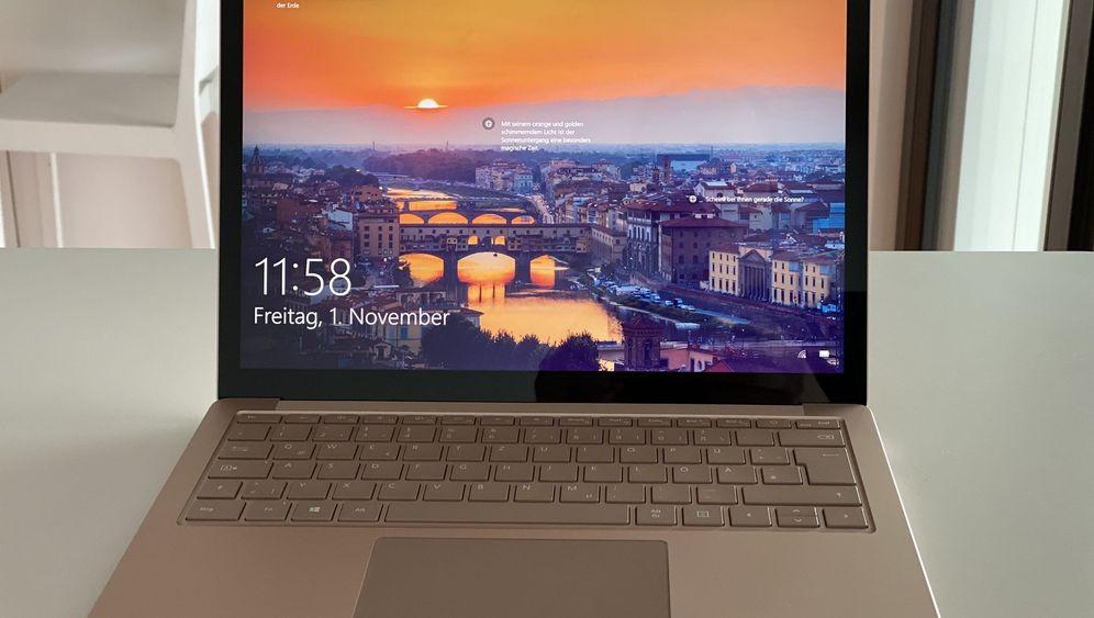 Microsoft Surface Laptop 3 im Test: Schöner Sandstein-Schein