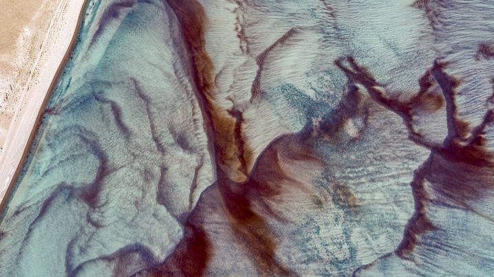 Laguna Celeste: wie ein Gemälde aus Wasserfarben