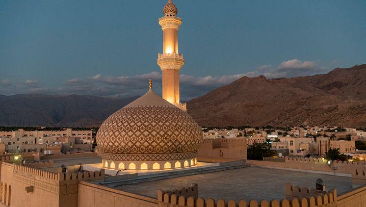 Michael Martin in Oman: Sterndünen im Morgenlicht