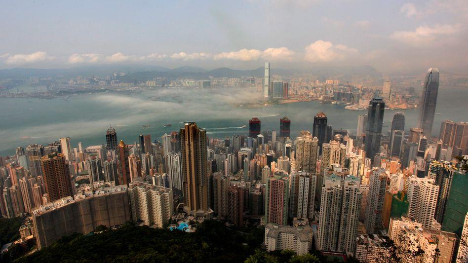 Skyline von Hongkong: Experten rechnen mit schwächstem Wachstum seit 2001