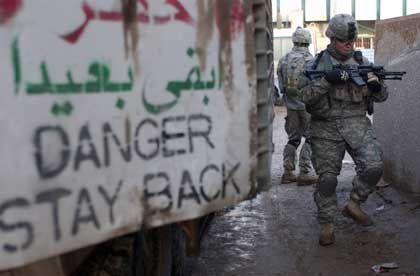 US-Patrouille: Verstärktes Vorgehen gegen iranische Agenten