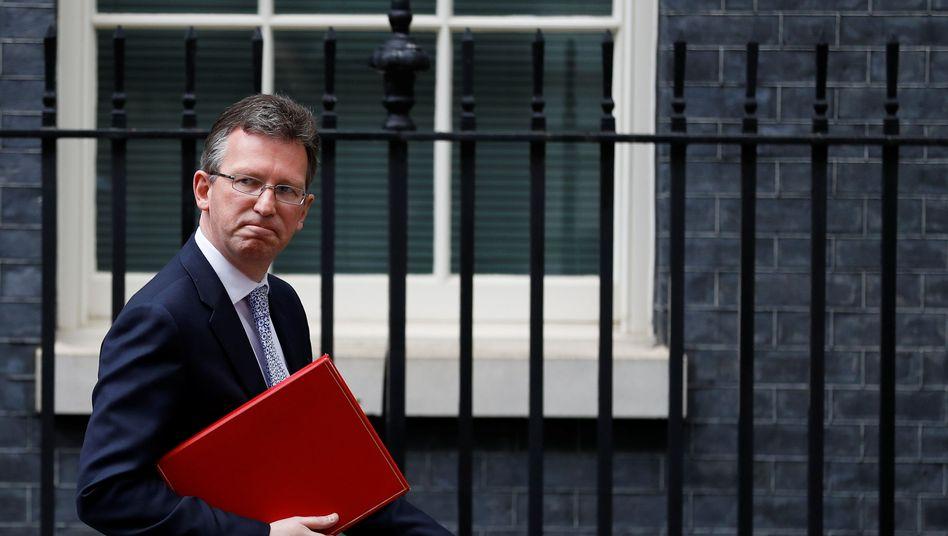 Großbritanniens Kultusminister Jeremy Wright