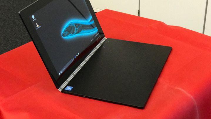 Lenovo Yoga Book Im Test Dieses Notebook Hat Tasten Aus Licht Der Spiegel