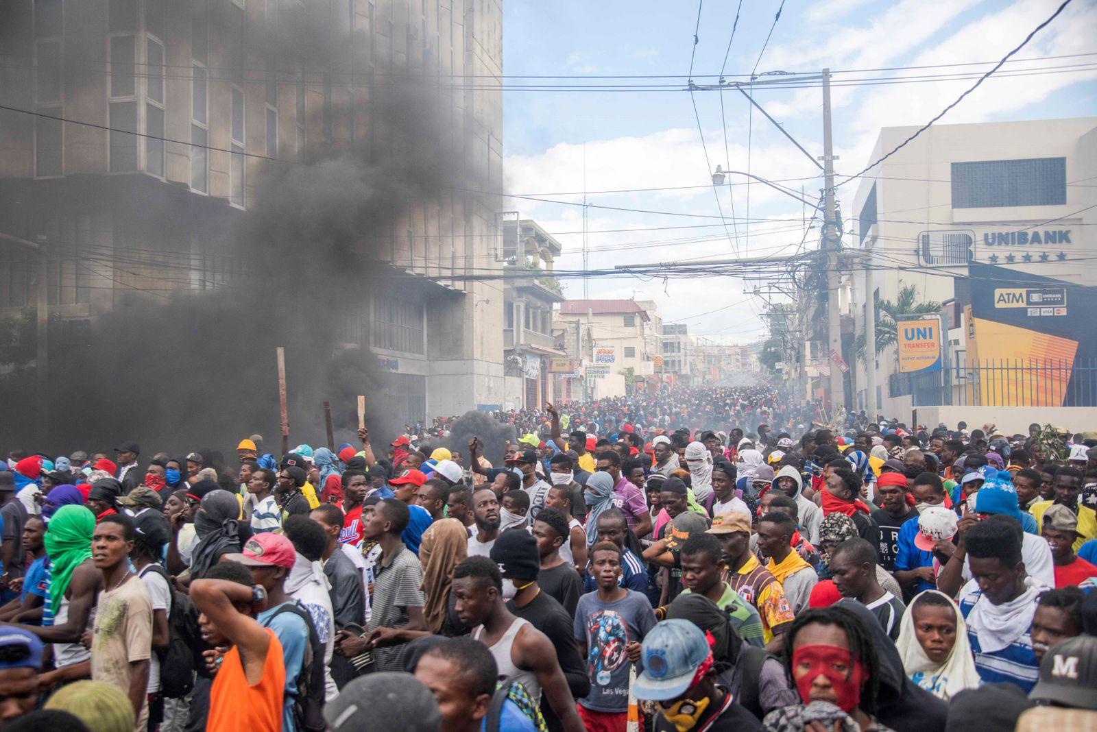 Haiti Proteste/ Port-au-Prince