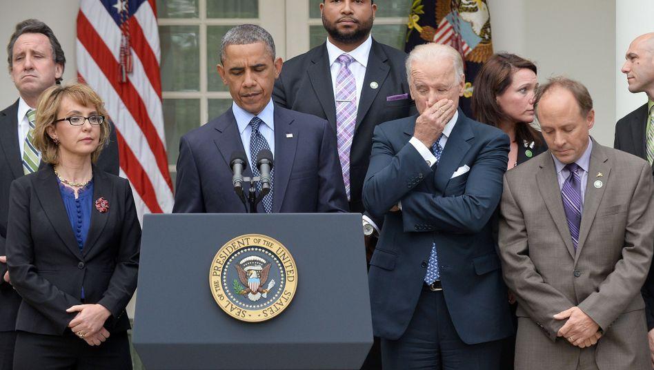 """Demokraten Giffords, Obama, Biden: """"Schändlicher Tag"""""""