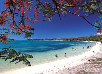 Flittern am Sandstrand: Ist die Trauung erst vollbracht, dann kann entspannt werden