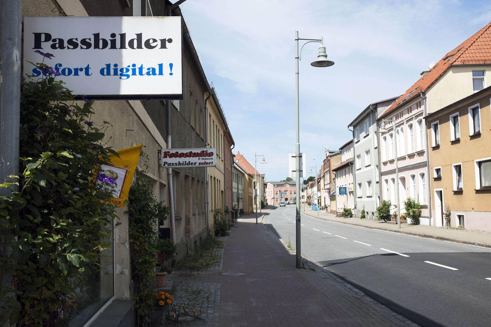 EINMALIGE VERWENDUNG Tessin / Mecklenburg-Vorpommern
