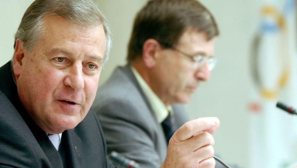 Anwalt Carrard (l.): Neuer Krisenmanager der Fifa