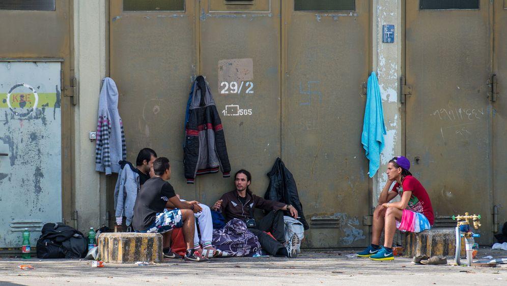 Flüchtlingsunterbringung: Turnhallen und Zelte