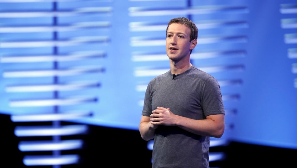 Facebook-CEO Mark Zuckerberg (Archivbild)