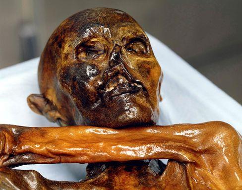 Ötzi: Ötzis Typ mitochondrialer DNA ist bislang gänzlich unbekannt