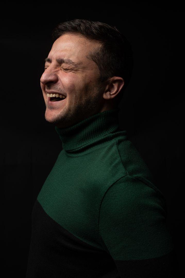 """Ehemaliger TV-Komiker Selenskyj: """"Putin hat unsere Position zur Kenntnis genommen"""""""