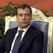 Dmitrij Medwedew: Der russische Präsident erklärte die georgische Führung als bankrott