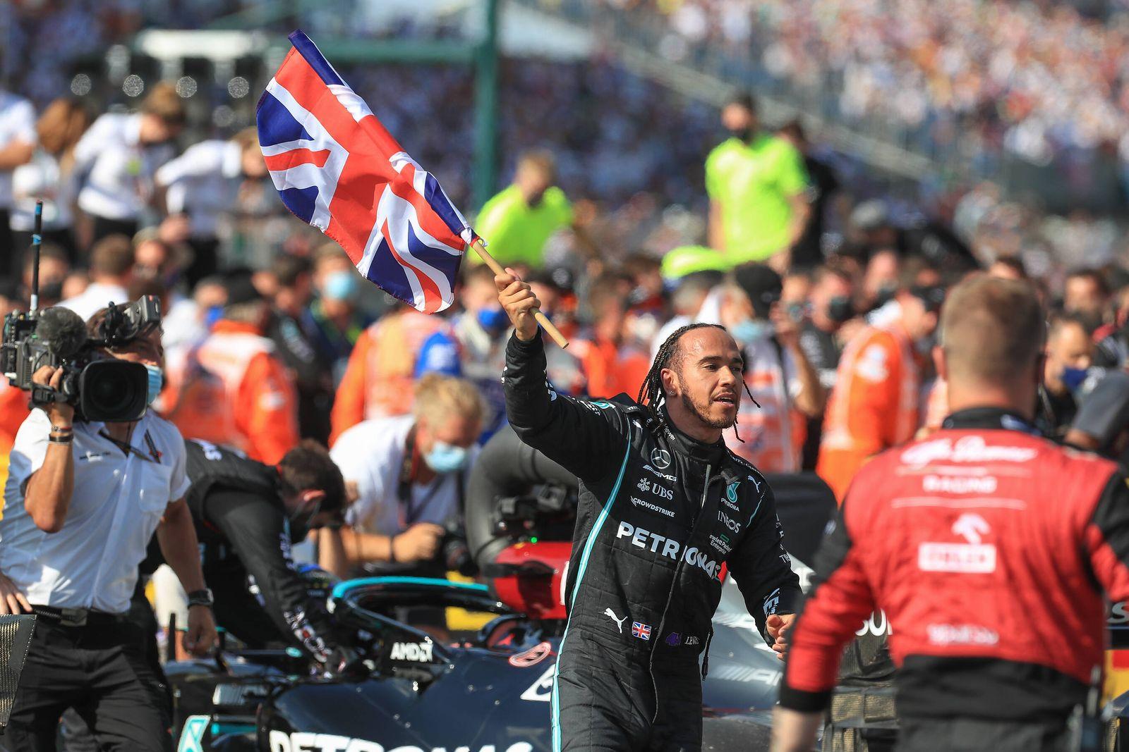 FORMULA 1 BRITISH GRAND PRIX, 18/07/2021 Silverstone Circuit,18 July 2021 Lewis Hamilton (GBR), Mercedes AMG Petronas W1