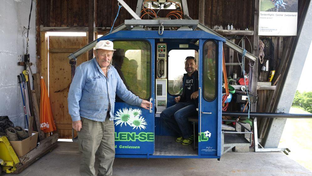 Schweiz: Bergbahn-Safari in den Alpen