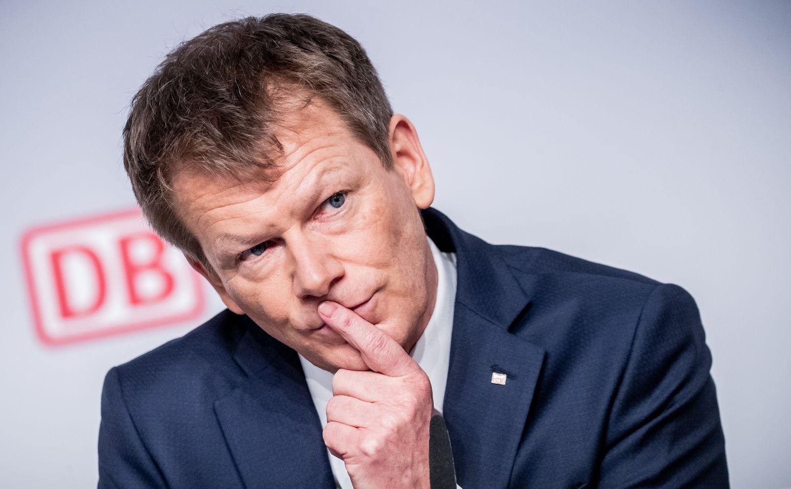 Richard Lutz / Deutsche Bahn AG - Bilanz-Pk