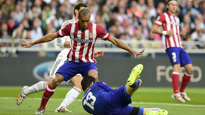 Atlético Madrid in der Einzelkritik: Teufel Godin, Auslaufmodell Villa