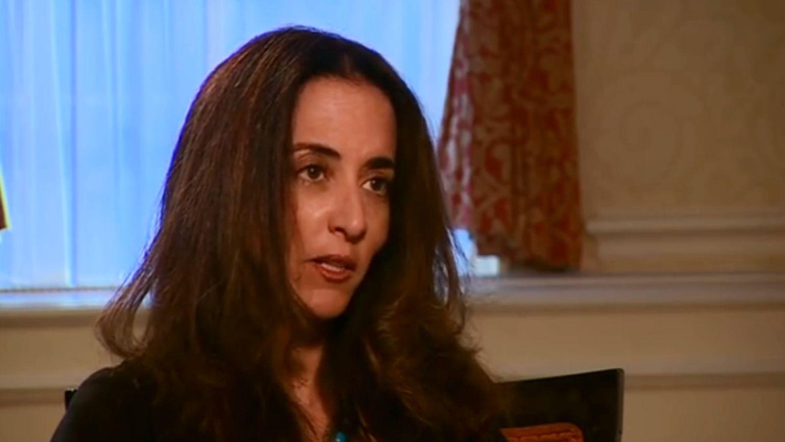 EINMALIGE VERWENDUNG NUR ALS ZITAT / SCREENSHOT / Phaedra Al-Majid