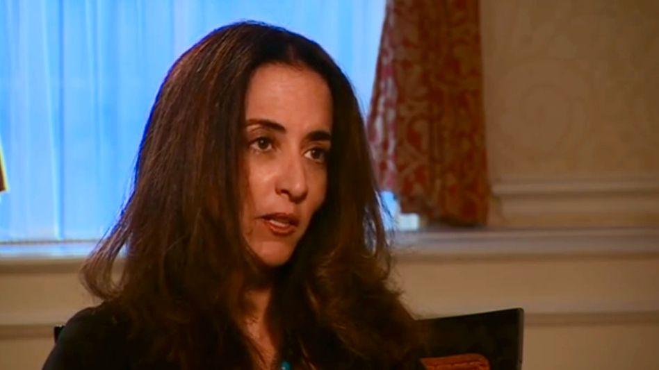Phaedra Almajid im BBC-Interview: Sorge um die Familie