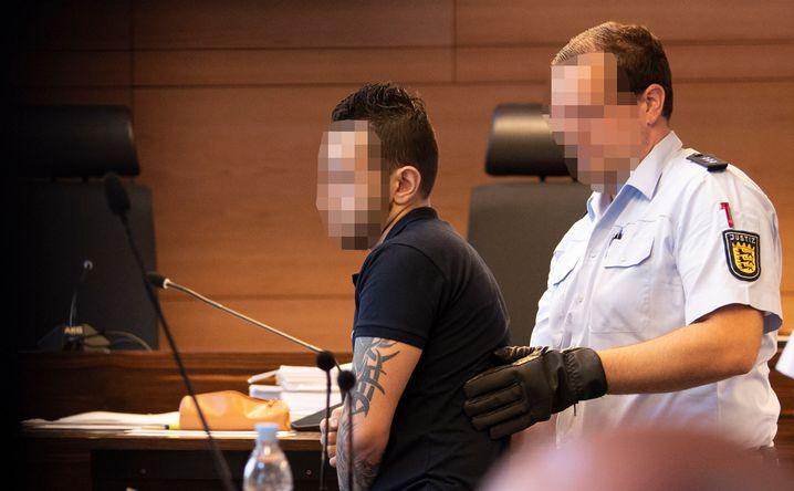 Der Angeklagte Ahmed Al H. beim Prozessauftakt am 26. Juni.