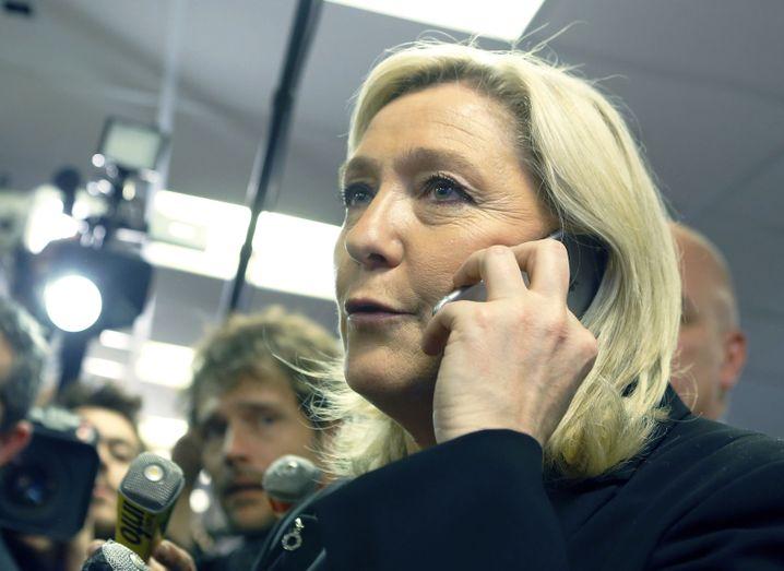 Marine Le Pen: Ihre Partei landete auf dem zweiten Platz