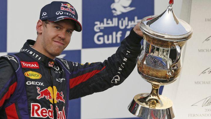 Formel 1: Vettel im Kreis der ganz Großen